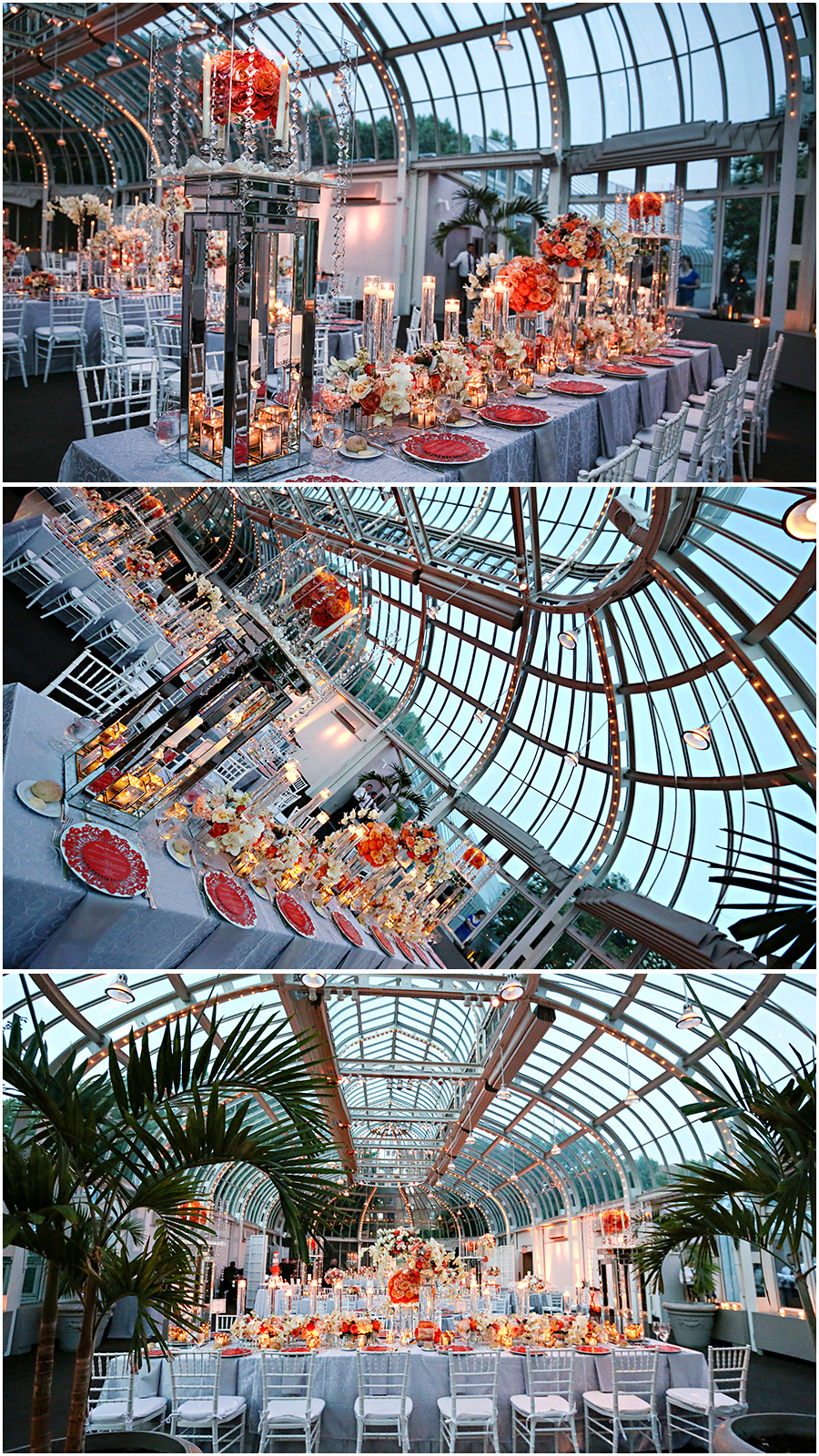 Brooklyn botanic gardens wedding reception marie labbancz reception venue the palm house at the brooklyn botanic garden wedding planner gina sole of instyle planners junglespirit