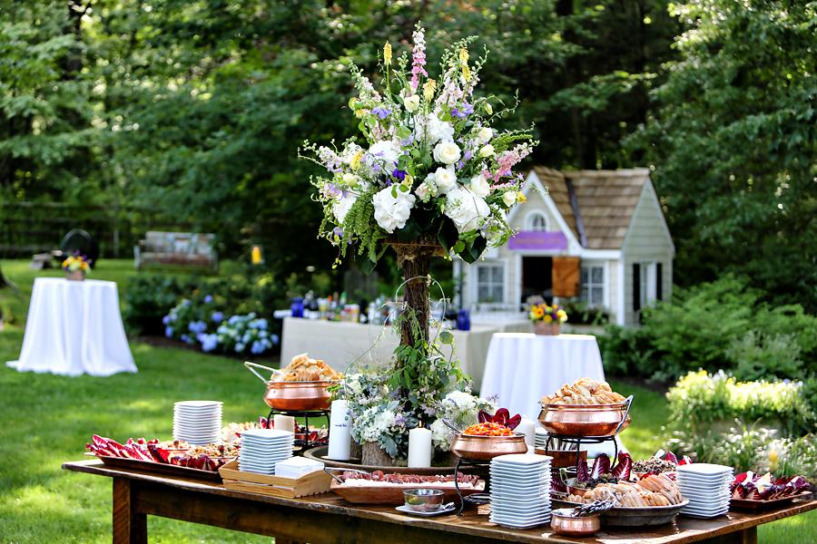 Princeton Home Wedding Reception Marie Labbancz Photography