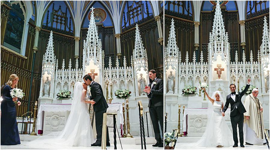 st  john the evangelist wedding ceremony of kylie   brad