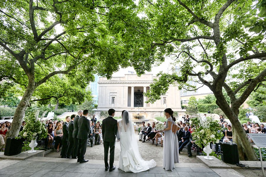 Rodin Museum Wedding Ceremony Of Lyndsay Vincent Marie