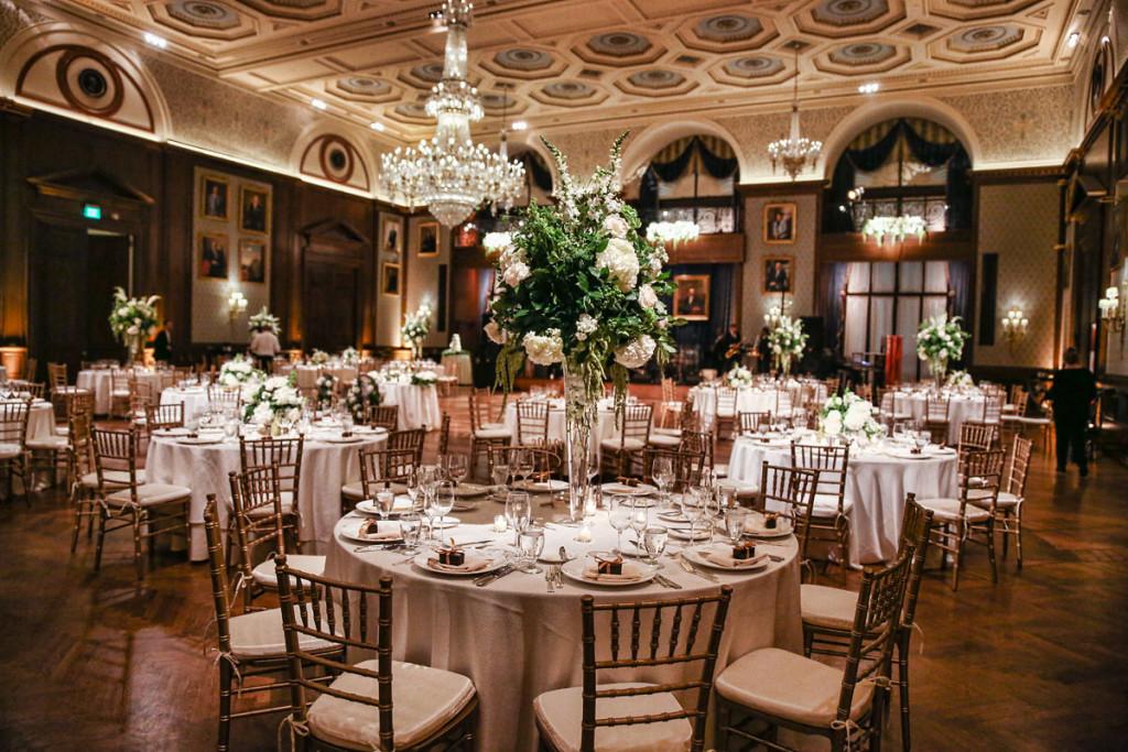 union league wedding reception of amanda john marie
