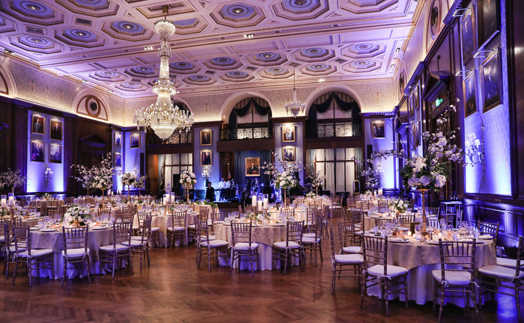 Union League Of Philadelphia Wedding Reception Of Meghan