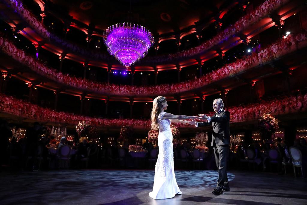 Academy Of Music Wedding Reception Marie Labbancz Photography